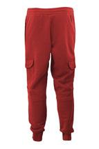 Men's Casual Fleece Sweatpants Sport Gym Workout Fitness Cargo Jogger Pants image 12