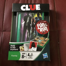"Hasbro Clue Game ""Fun on the Run""  (Travel Edition) - New - $9.89"