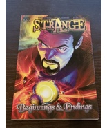 Strange: Beginnings & Endings Softcover Graphic Novel - $10.00