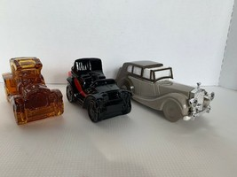 Vintage Avon Packard Roadster, Electric Charger And Rolls Royce Bottles - $12.00