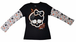Halloween Monster High Girl's Long Sleeve T-Shirt - $9.99
