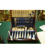 WM A Rogers Onieda Ltd Flatware 1938 Margate 69 Piece Set - $262.84