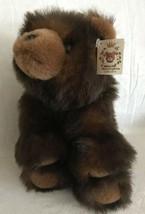 Bearington Collection Plush Bear Baby Benjamin Stuffed Soft Toy Brown 11... - $14.84
