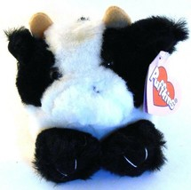 Meadow the Cow RETIRED Puffkins Bean Bag Plush 1997 Swibco with Hang Tag - $5.93