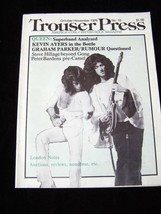 Trouser Press October November 1976 Queen Kevin Ayers Grapham Parker and... - $19.99