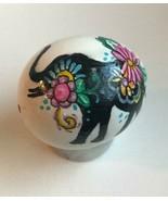 REAL Egg Handpainted Blown Egg Animal Silhouette Floral decor Easter / E... - $6.25