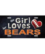 This Girl Loves Her Bears  NFL Football  Tag - $19.34