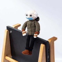 Bernie Doll |  Bernie's Mittens Crochet Doll | Homemade Bernie | Bernie ... - $20.49