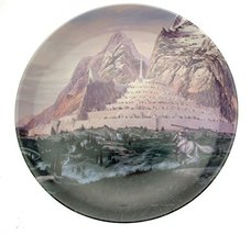 Danbury Mint Lord of The Rings Plate Dawn at Minas Tirith - $50.95
