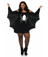 Leg Avenue Jersey Spider Web Dress Plus Size  Womens Halloween Costume 86647X - $30.99
