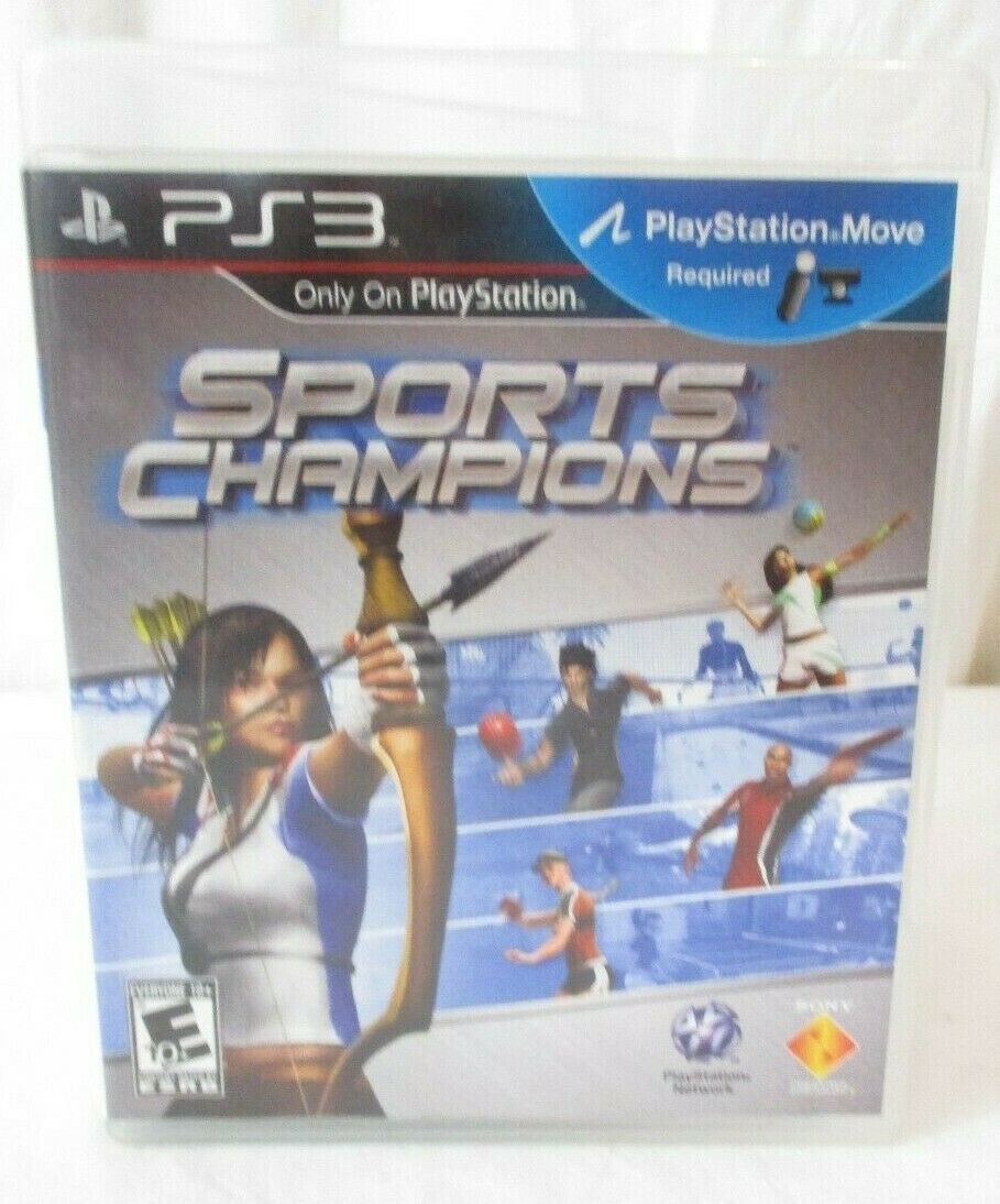 Primary image for Sports Champions (Sony PlayStation 3, 2010) PS3 Game PlayStation Move required