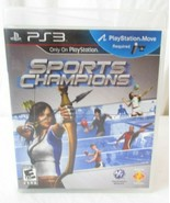 Sports Champions (Sony PlayStation 3, 2010) PS3 Game PlayStation Move re... - $4.54
