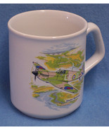 Ceramic Coffee Mug Cup Hawker Hurricane Airplane Fighter Plane Collectors - $9.89
