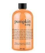 Philosophy Pumpkin Icing Shampoo Shower Gel Bubble Bath 16 oz.  3 in 1 S... - $24.22