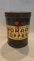 Vintage Tin, Freshly Roasted Bokar Ground To Or... - $18.35