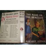 Judy Bolton #13- The Name on the Bracelet- DJ- ... - $24.95