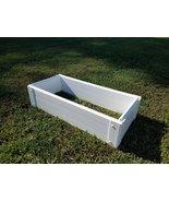 Handy Bed 12-inch x 25-inch x 6-inch White Vinyl Raised Garden Bed - $46.75