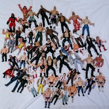 Titan Sports Wrestling Figures Lot Remco Jakks ... - $247.50
