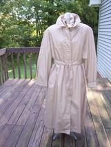 "Beige Raincoat ""The Totes Coat"" Size 18 - $103.99"