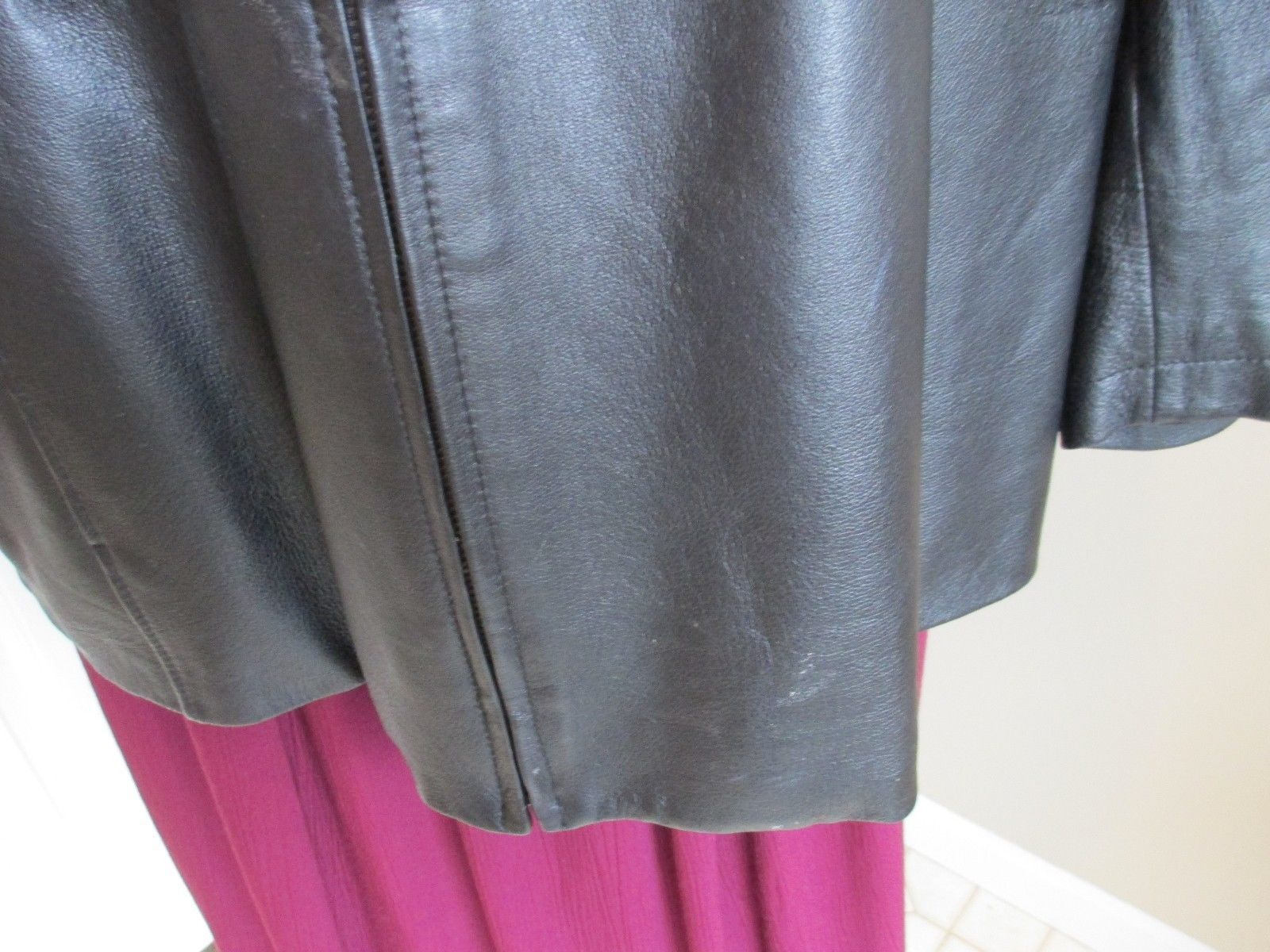 bd2472fab39 Maggie Barnes Leather Jacket Sz 22 24 and similar items