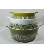 Vintage Pyrex Spring Blossom Cinderella Bowl Set - $36.93