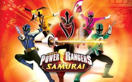 Power Rangers Samurai Edible Cake Topper Frosting 1/4 Sheet Birthday Party - $9.99