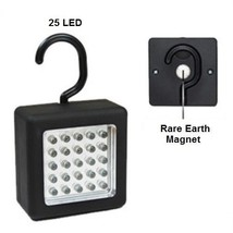 25 LED Emergency Work Light With Magnet & Hanging Hook - New - $10.74
