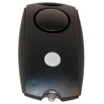 Black Mini 120db Ear Piercing Personal Alarm W/ Keychain, Flashlight & B... - $10.74