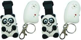 Lot Of 2 Child Guard Panda Anti Lost & Wander Alarm With Transmitter & R... - $43.11