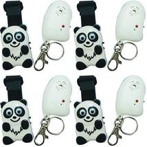 Lot Of 4 Child Guard Panda Anti Lost & Wander Alarm With Transmitter & R... - $77.64