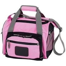 Pink Cooler Bag with Zip-Out Liner, Multiple Pockets & Adjustable Should... - $31.91