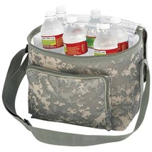 Digital Camouflage Water-Resistant Heavy Duty Cooler Bag With Adjustable... - $26.13