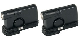 LOT OF 2 EMERGENCY PERSONAL ALARM WITH FLASHLIGHT PL-6 - $26.17