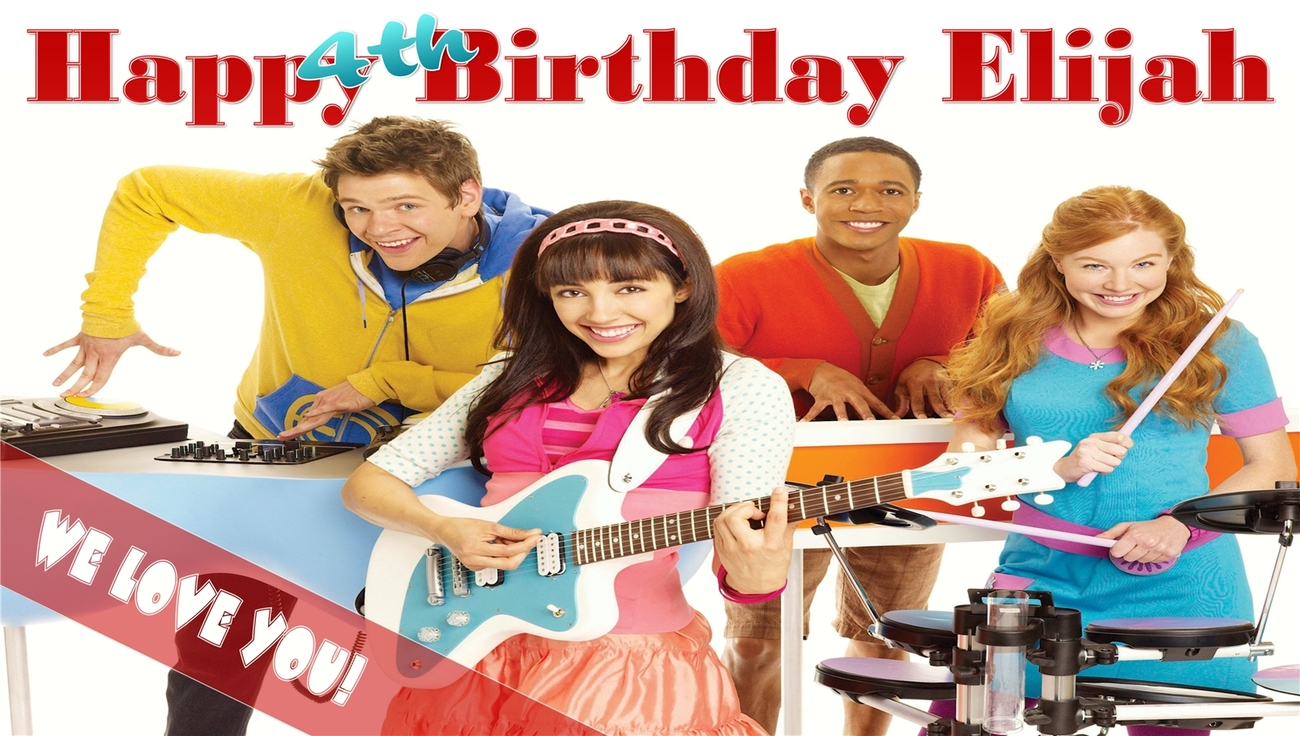 The Fresh Beat  Band -Personalized- Custom Birthday Banner Party Decoration