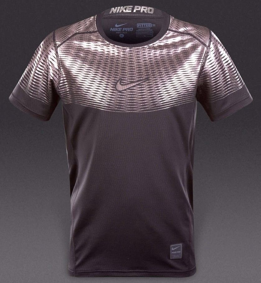0668210d046a5 57. 57. Previous. NIKE PRO HYPERCOOL MAX FITTED mns s's:M / XL TRAINING  SHIRT top 744281- · NIKE PRO HYPERCOOL ...