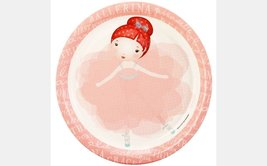 "Ballerina Tutu Edible Image Photo 8"" Round Cake Topper Sheet Personalize... - $9.99"