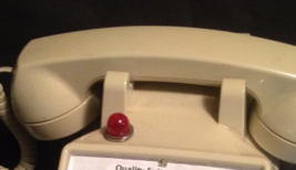 Touch-Tone Desk Telephone With Red Message Alert - $23.00