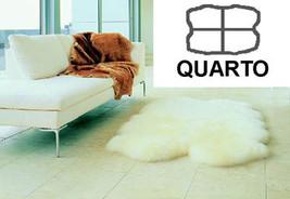 Quad Bowron Sheepskin Pelt Rug Natural - $339.00