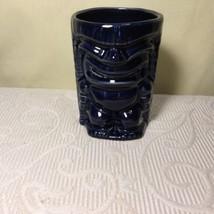 Blue Glazed 12oz. Tiki Hawaiian Polynesian Coffee Tea Mug. - $29.02