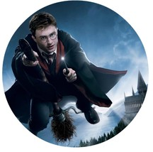 "Harry Potter Hogwarts Edible Image Photo 8"" Round Cake Topper Sheet Pers... - $9.99"