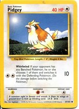 Pokemon Base Set Common Card #57/102 Pidgey - $1.93