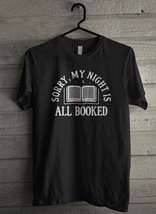 My Night All Booked Men's T-Shirt - Custom (1943) - $19.12+