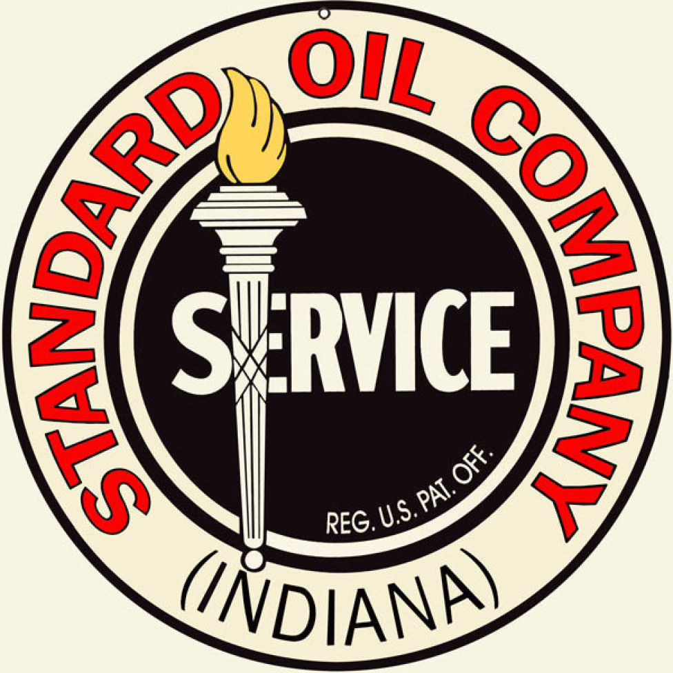 Primary image for Standard Oil Company Indiana Service Station Gas Sign