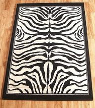 Zebra Skin Area Rug 5ft. x 8ft. - $74.00