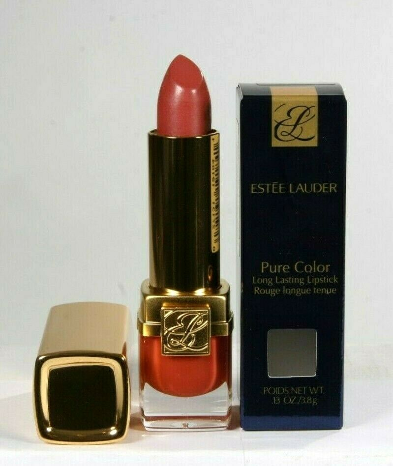 Primary image for New Estee Lauder Pure Color Long Lasting Lipstick 118 Bois De Rose