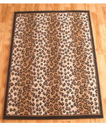Leopard Print Area Rug 8ft. x 11ft. - $99.00