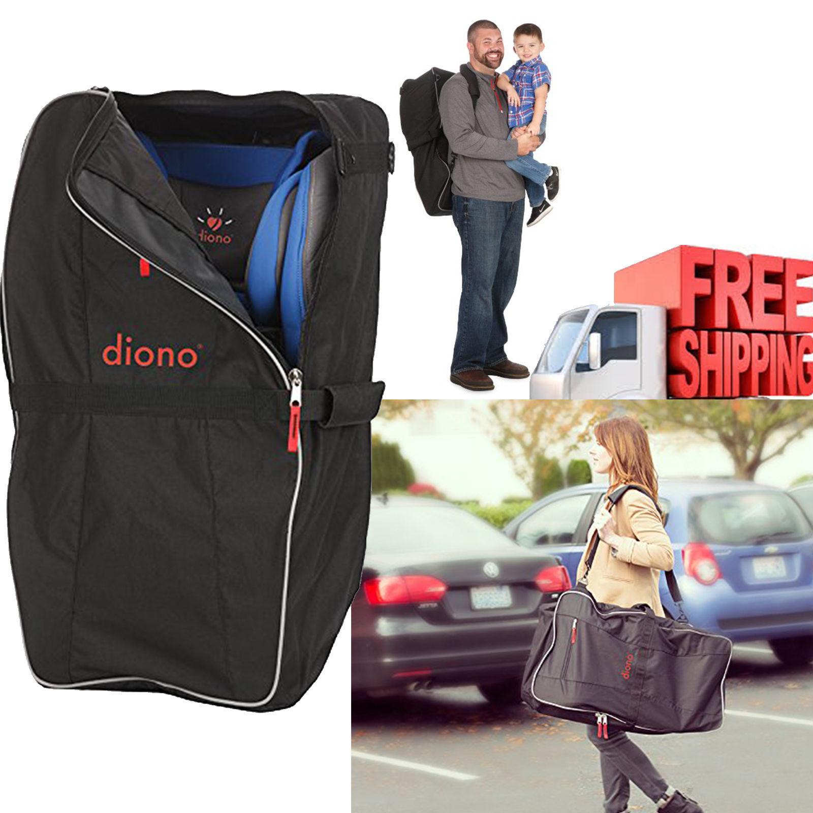 Diono Car Seat Travel Bag Black