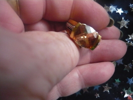 Haunted Of Male Djinn Changes Of Life Citrine Ring And Charge Box Size 6  - $300.00