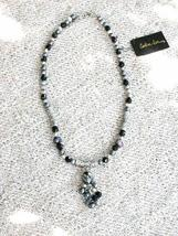 Cookie Lee Genuine Hematite & Freshwater Pearl Necklace - Item #89186 - ... - $16.00