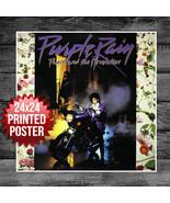 Prince Purple Rain Movie Poster 1984 Music 1980's Art Rock 24x24 - $14.50